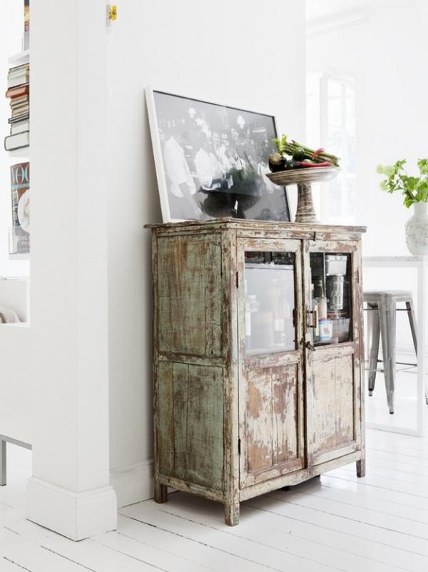 Muebles De Cocina Estilo Retro. Perfecta Combinacin De Mobiliario De ...