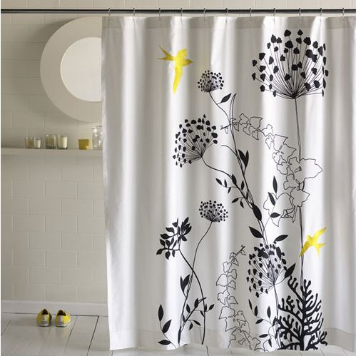 Originales cortinas para la ducha for Disenos de cortinas