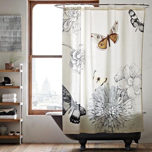 Originales cortinas para la ducha - Cortinas de bano diseno ...