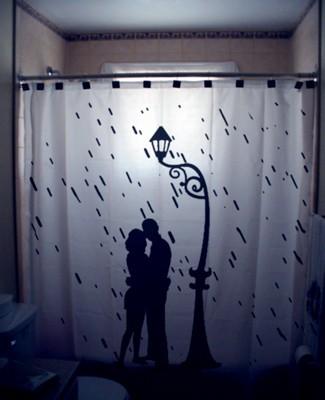 Originales cortinas para la ducha - Cortinas bano originales ...