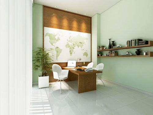 Espacios productivos de trabajo en casa for Decoracion de espacios de trabajo