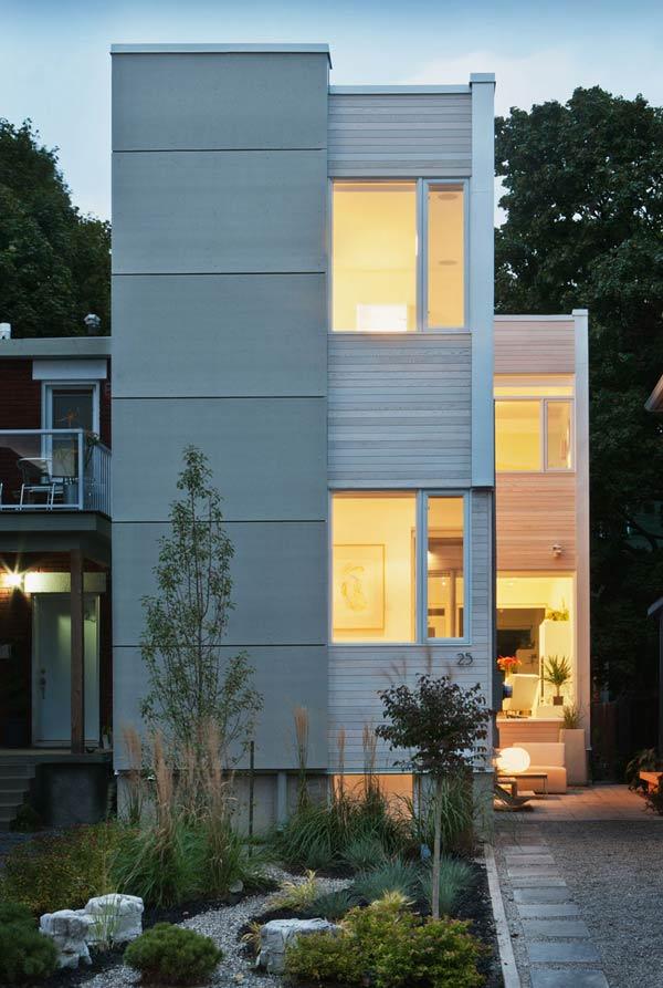 Una casa moderna y con una decoración única 1
