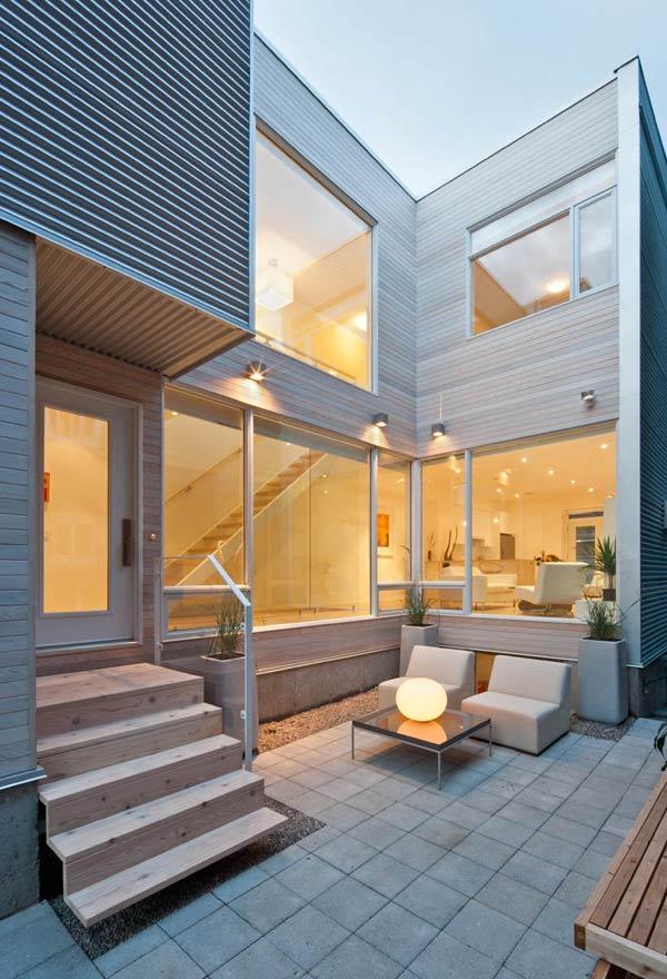 Una casa moderna y con una decoración única 11