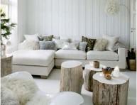 imagen Decorar con materiales naturales (I): Troncos de madera