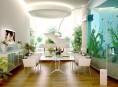 imagen Decoración de interiores con acuarios