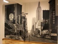imagen Decorar las paredes con graffitis