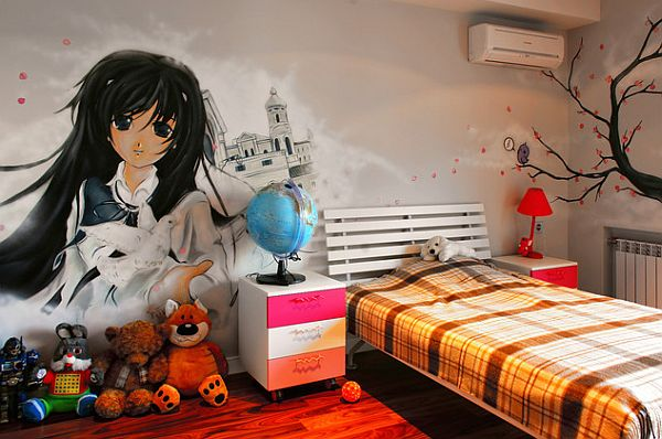 Graffitis para decorar habitaciones - Graffitis en dormitorios ...