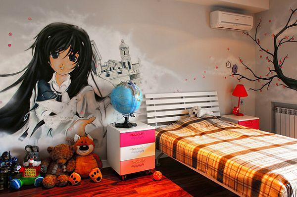 Graffitis para la habitación 4
