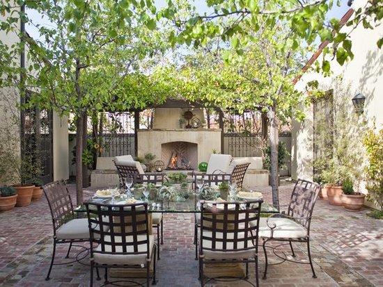 Comedores al aire libre for Comedores exteriores para terrazas