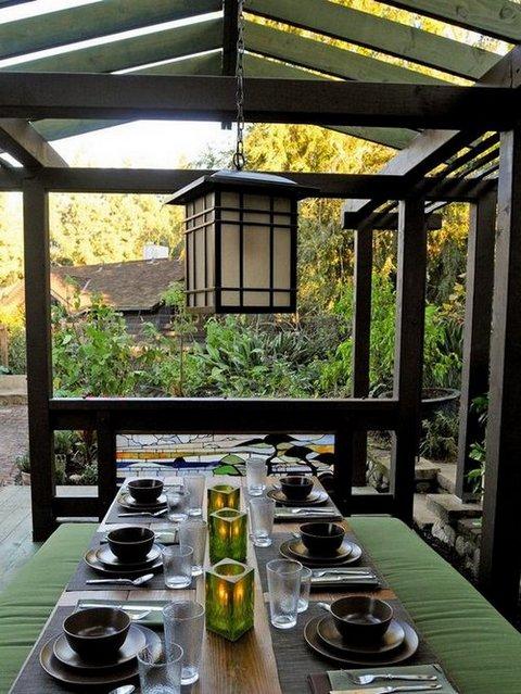 Comedores al aire libre for Color de pintura al aire libre casa moderna