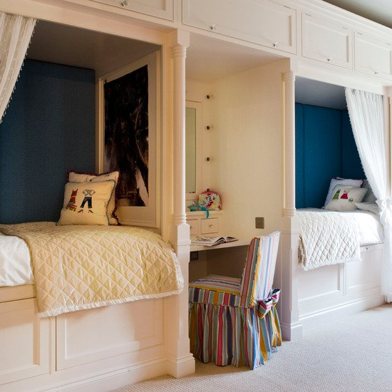 Shared Boys Bedroom Storage: Habitaciones Compartidas Para Los Peques