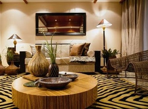 decorar al estilo africano. Black Bedroom Furniture Sets. Home Design Ideas
