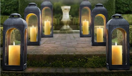 Faroles de exterior for Farolillos para velas