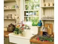 imagen Fregaderos de cocina de inspiración rústica