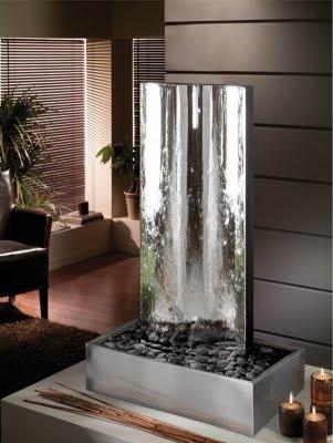 Fuentes de agua decorativas - Fuentes de pared modernas ...