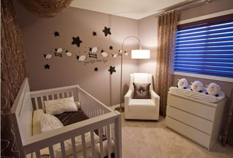 Habitaciones de beb unisex - Cuartos de bebes recien nacidos ...