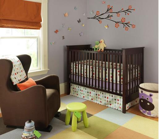 Habitaciones de beb unisex - Habitaciones infantiles unisex ...
