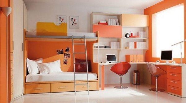 Habitaciones para niños a todo color
