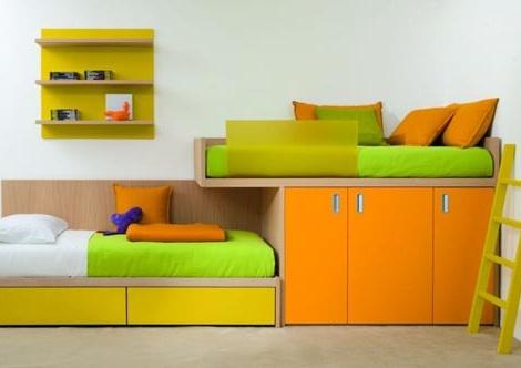 Habitaciones para ni os a todo color - Colores habitacion nino ...