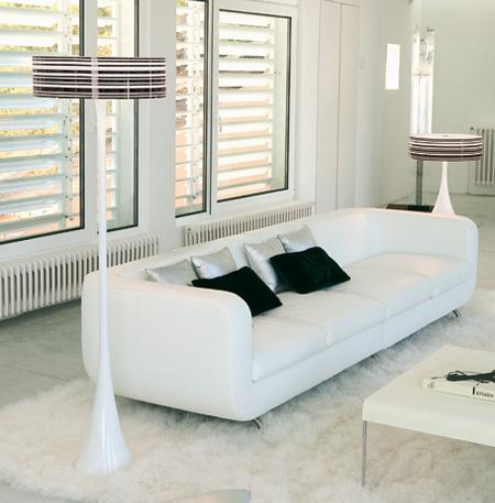 Lámparas de pie modernas1