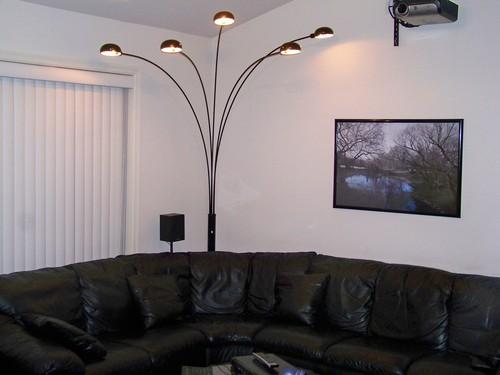 Iluminacion con lamparas de pie modernas 06 gu a para - Iluminacion de pie ...