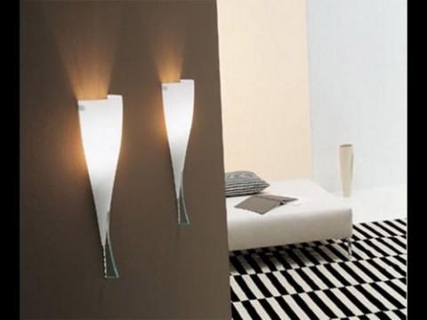 Lámparas de pared de diseño geométrico 1