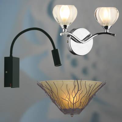 Lámparas de pared de diseño geométrico 7
