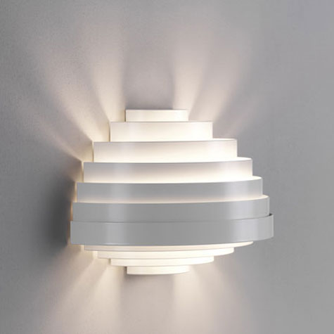 Lámparas de pared de diseño geométrico 8