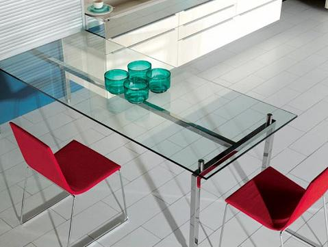Mesas ahorrar espacio for Mesa abatible pared cocina