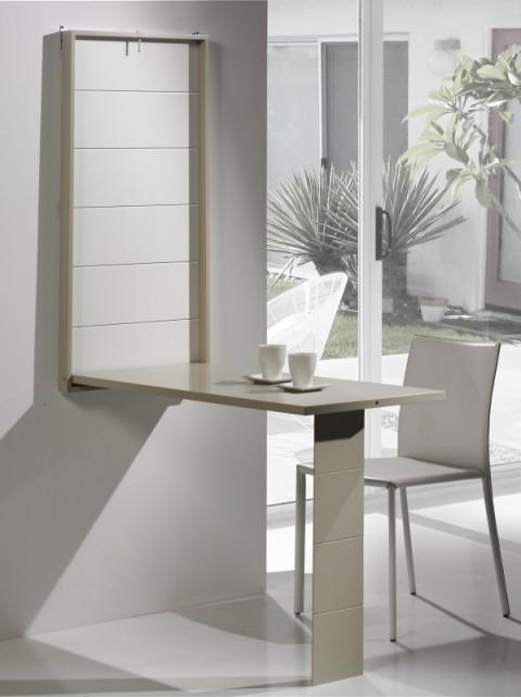 Mesas ahorrar espacio - Escritorio abatible pared ...