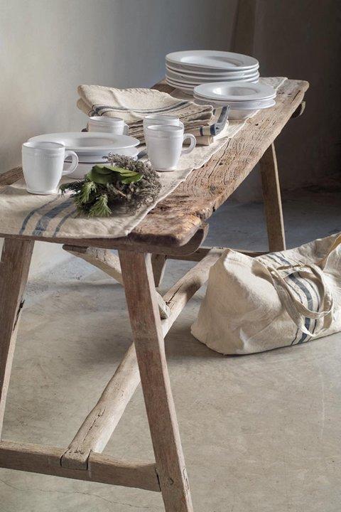 Mesas de desayuno en estilo rústico2