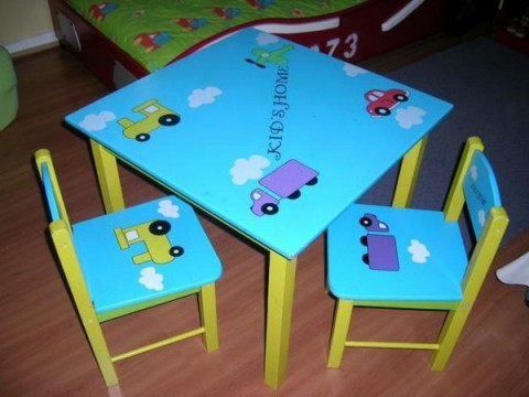 Mesas para niños 2