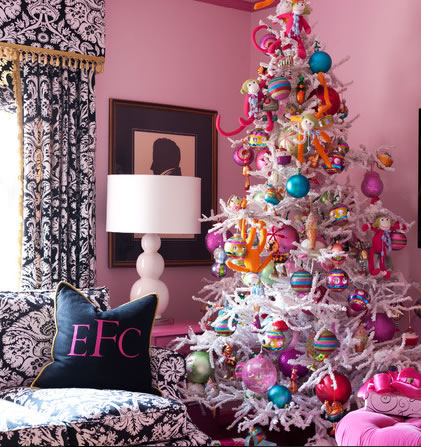 Rboles navide os para todos los gustos - Arboles de navidad rosa ...