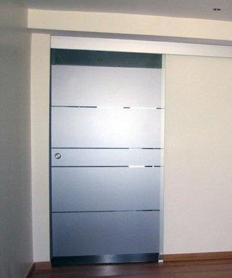 Puertas correderas de cristal for Decoracion cristales puertas interior