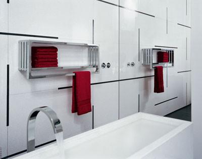 Ba os estilos modernos toalleros de ba o for Toalleros para bano modernos