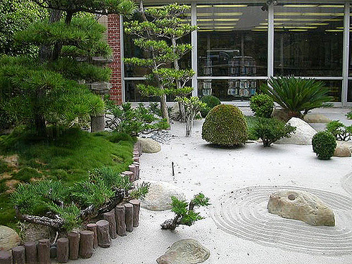 Jardines zen en miniatura - Diseno de jardines exteriores para espacios pequenos ...
