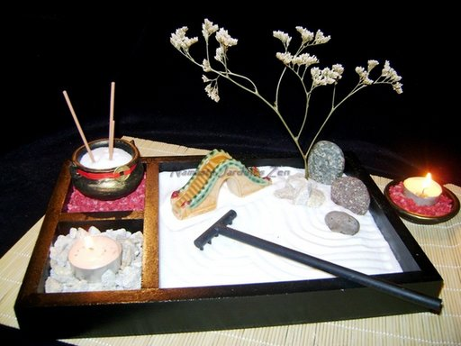 Jardines zen en miniatura - Arena para jardin zen ...
