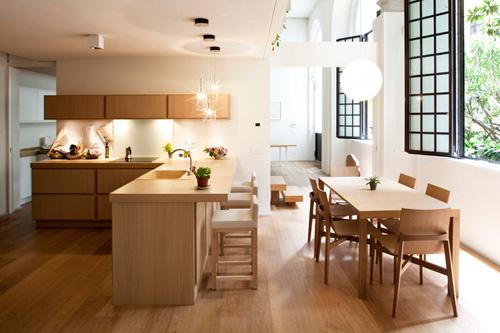 Oficina y hogar en un loft decorado para vivir 7