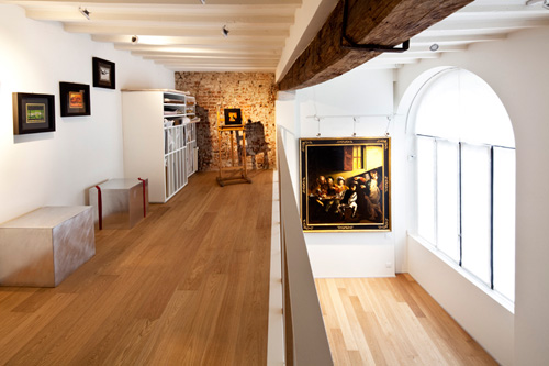 Oficina y hogar en un loft decorado para vivir 11
