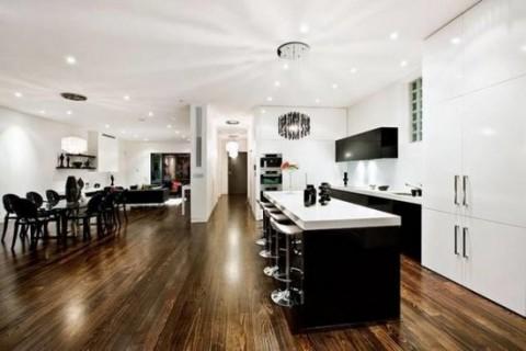 Una casa moderna en australia - Suelos modernos para casa ...