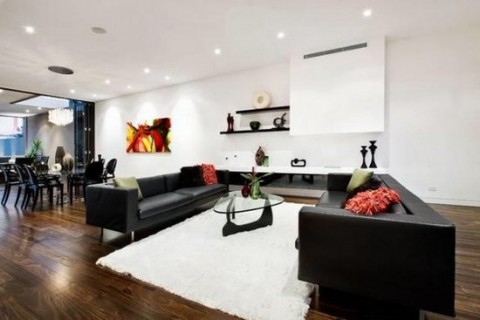 Una casa moderna en australia for Decoraciones modernas para casas