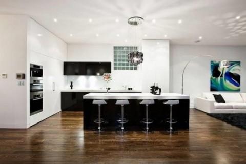 Una casa moderna en australia - Suelos de casas modernas ...