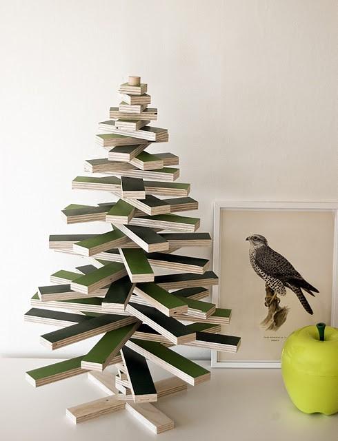 Rboles de navidad poco convencionales - Arboles de navidad creativos ...