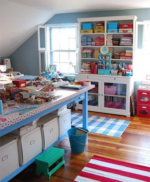 Un taller de manualidades en casa - Hacer manualidades en casa ...