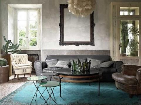 Una casa italiana llena de detalles vintage - Decoracion vintage casa ...