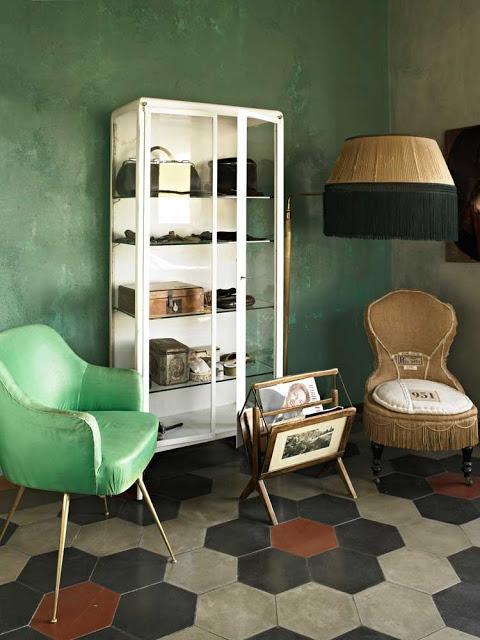 Una casa italiana llena de detalles vintage for Casas estilo vintage