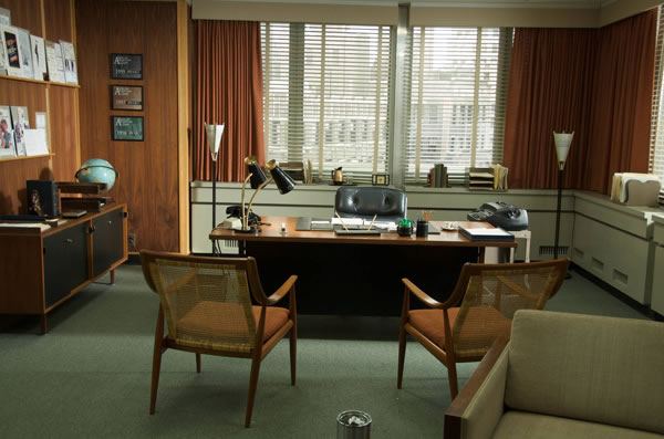 Decorados de Mad Men 1