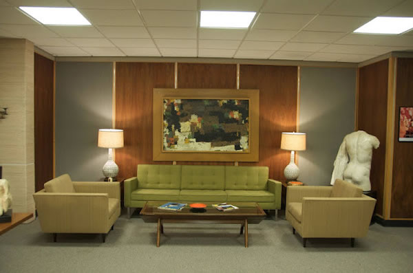 Decorados de Mad Men 2