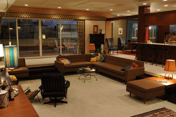 Decorados de Mad Men 6