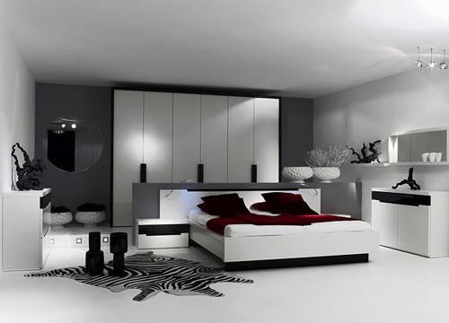 Habitaciones de estilo minimalista for Muebles diseno minimalista